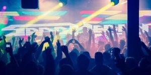 Party in einem Club