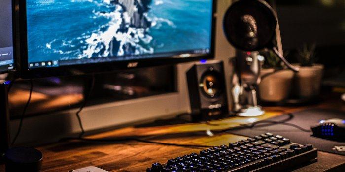 Internetzugang über einen Computer