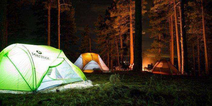 Outdoor und Camping für Studenten